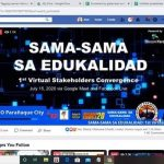 DepEd Parañaque goes live on 1st Stakeholders Convergence; launches CP drive