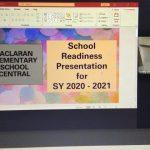 SDO Parañaque monitors school readiness for S.Y. 2020-2021